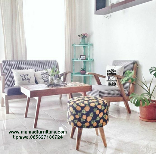 Sofa Tamu Shabby Chic Mamad Furniture Jepara